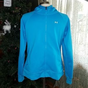 Under Armour Youth Hoodie Large Blue Boys Bin7